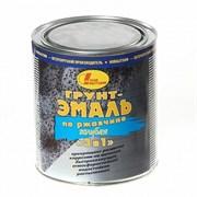 Грунт-эмаль по ржавч.3 в 1 голубая 1л С.П.